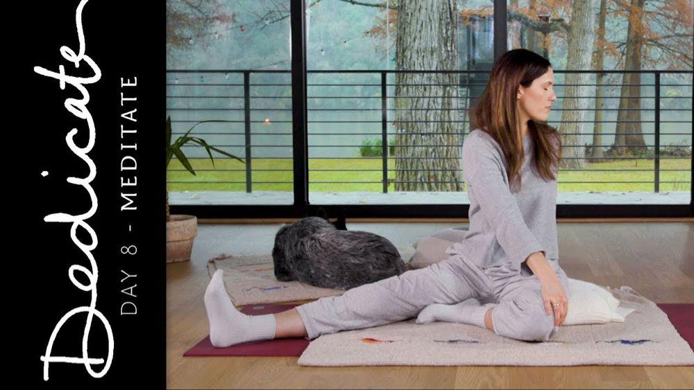 Dedicate Day 8 Meditate Yoga With Adriene Yoga Teacher Resources Restorative Yoga