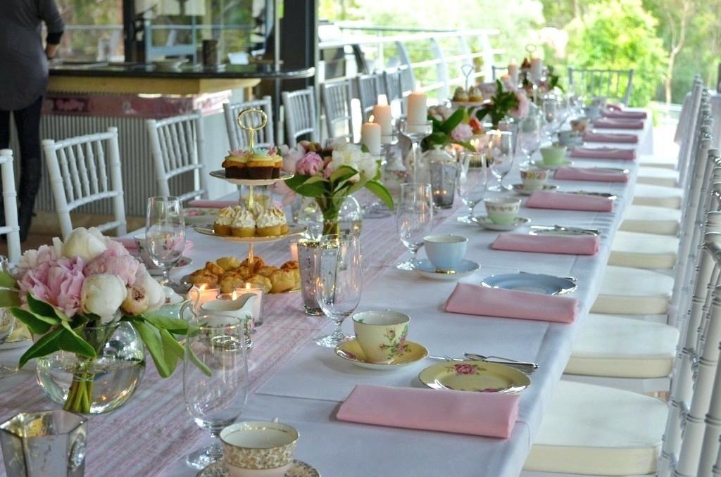 Afternoon Tea Table Setting Ideas Kitchen Tea Decoration