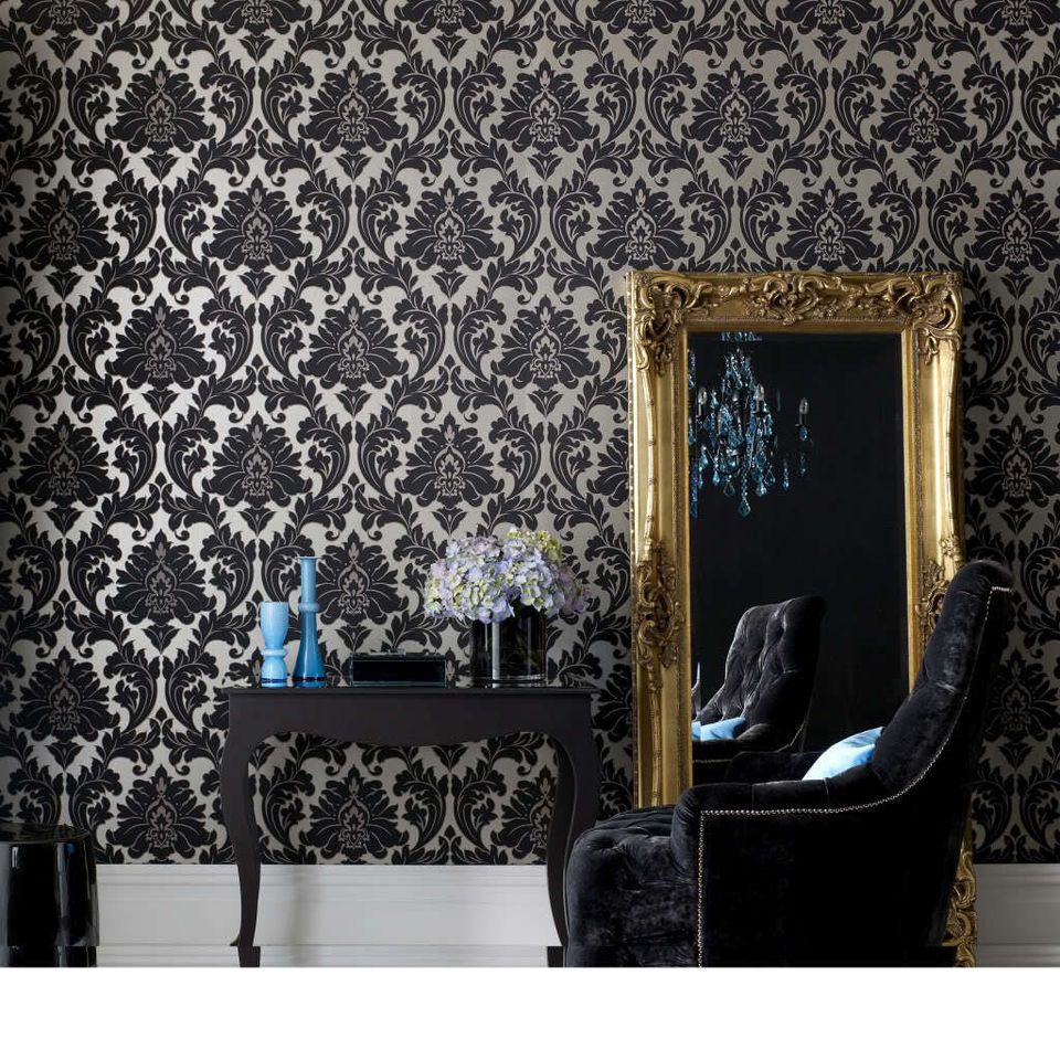 neo barock vliestapete stil tapete klassik ornament retro landhaus stil my next home. Black Bedroom Furniture Sets. Home Design Ideas