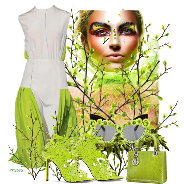 Summer Garden, created by marastyle on Polyvore