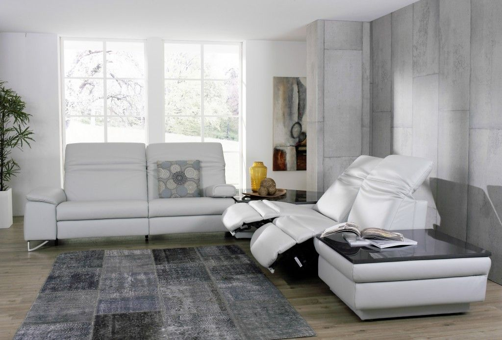 Sofa in Motion. Himolla\'s sofas offer extended relaxation with ...