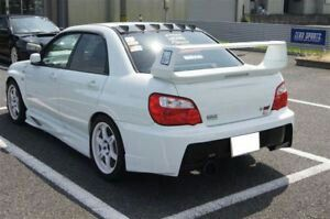 Roof Spoiler For 02 07 Impreza Wrx And Wrx Sti Wrx Impreza Dream Cars