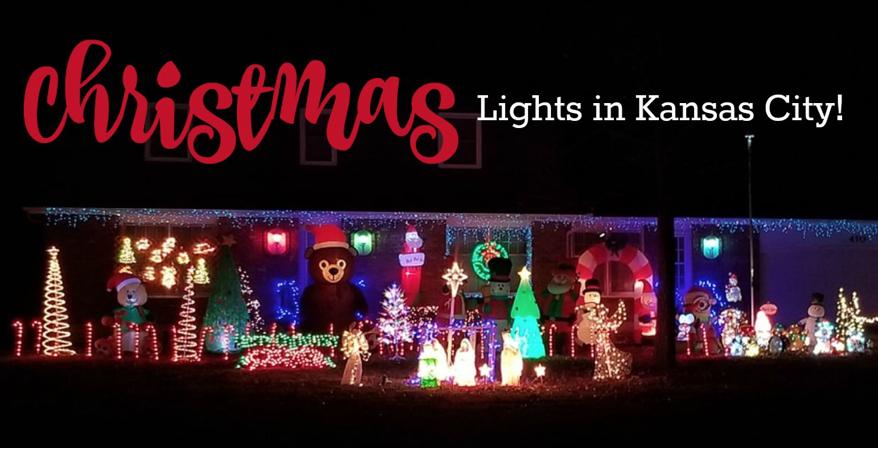 94+ Christmas Light Displays in Kansas City for 2019