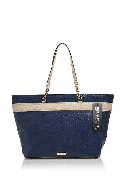 Kate Spade Medium Harmony Valencia Road Navy Katespade Handbags