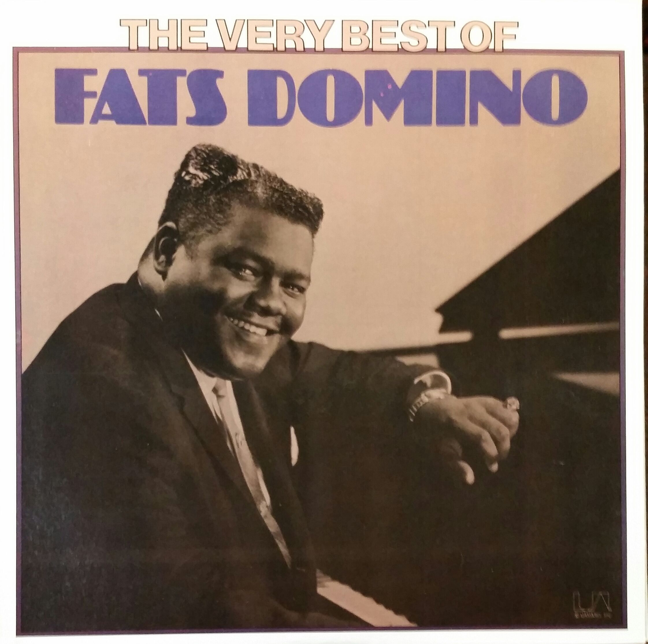 Fats Domino The Very Best Of Fats Domino 1975 This Is A Very Enjoyable Album Of Fats Domino Hits Although It Greatest Songs Songs Vinyl Record Collection