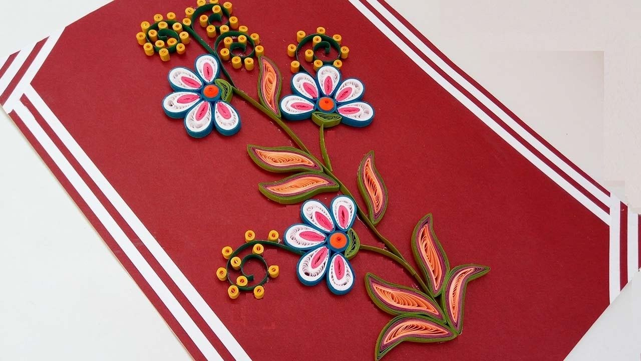 Diy crafts how to make paper quilling flowers step step christmas diy crafts how to make paper quilling flowers step step christmas greeting card paper quilling flowers quilling flowers and paper quilling mightylinksfo