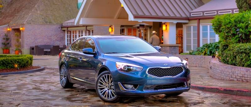 2016 Kia Cadenza Release Date Interior Images Changes Hybrid