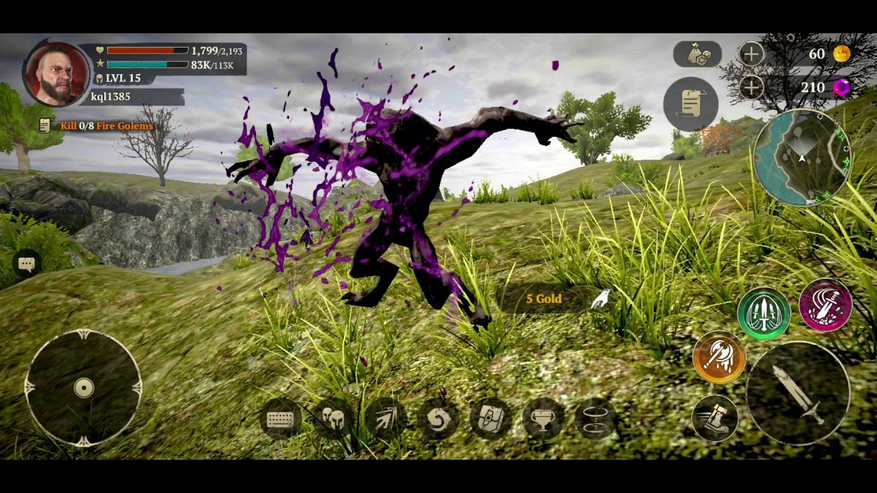 Evil Lands Online Action RPG AndroidIOSReviewGameplay