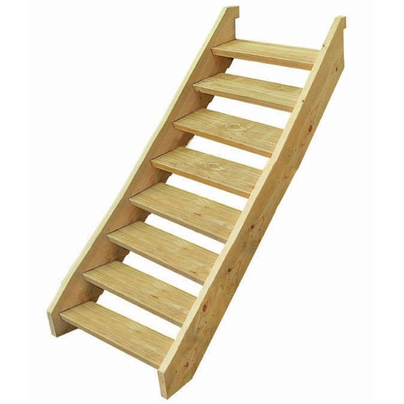 Best Wilmaplex Treated Pine Ezistep 8 Step Stringer Kit Step 400 x 300