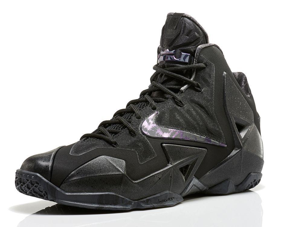 All Black Everything: Nike LeBron 11 \u0027Anthracite\u0027