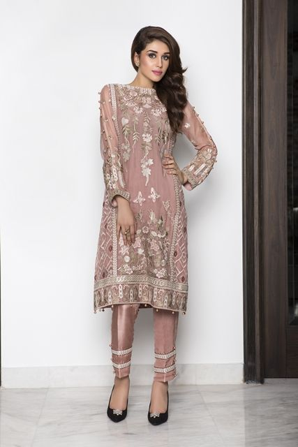 Baroque luxury chiffon vol 4 eid ul adha collection 2016 for Indian wedding guest dresses uk