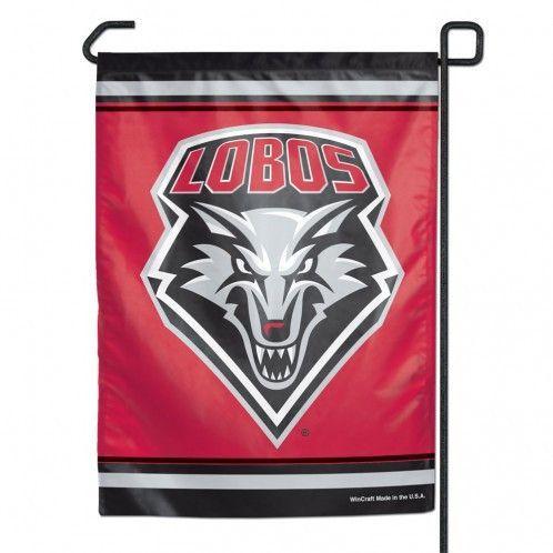 New Mexico Lobos 11x15 Garden Flag (backorder)
