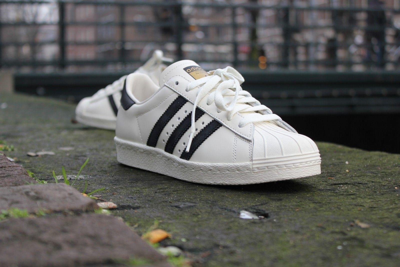 Adidas Superstar 80s Vintage Deluxe Black - B25963