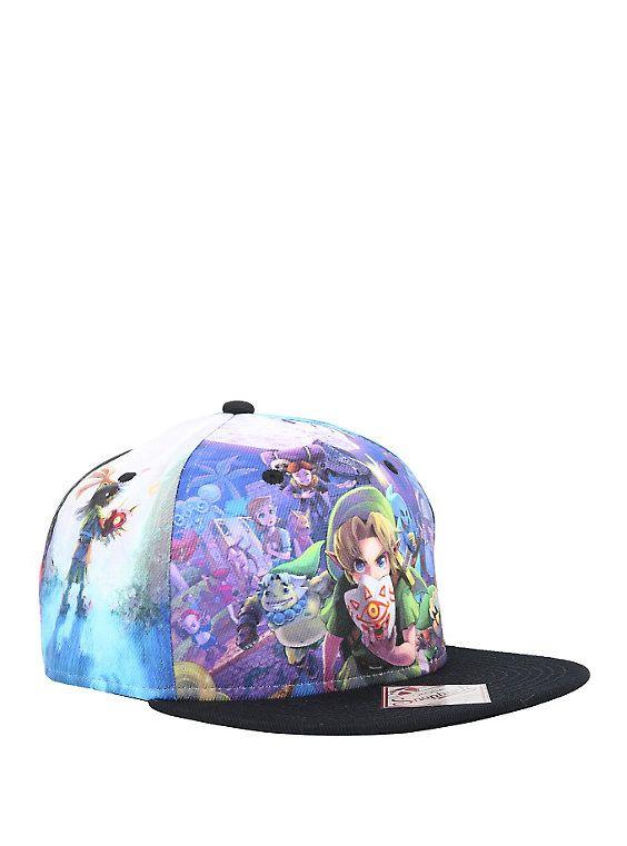 The Legend Of Zelda: Majora\'s Mask 3D Allover Snapback Hat