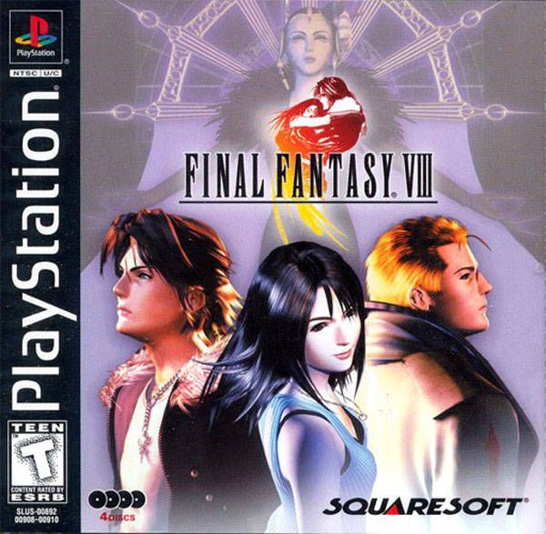Final fantasy VIII, the videogame.