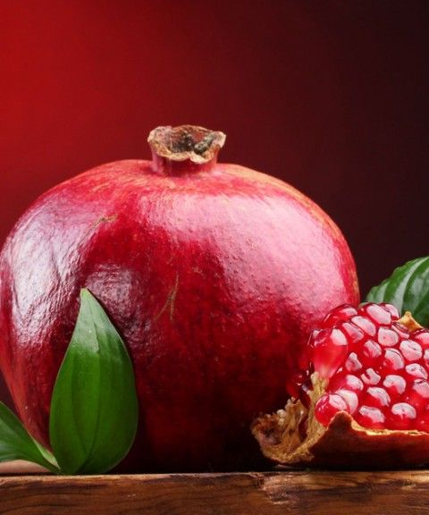 The pomegranate is one of the oldest fruits in recorded history. Native to the area of modern-day Iran and Iraq, the pomegranate has been cultivated since ancient times and has spread through the world. The fruit is about the size of an orange, with a rind ranging from yellow-orange to