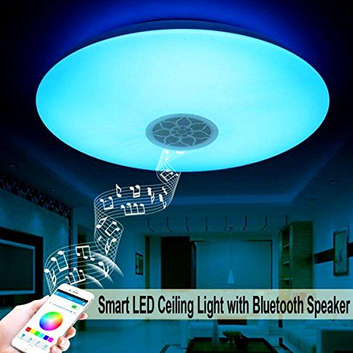 Autai Smart Led Ceiling Light Multi Color Changing And Di Https Www Amazon Com Dp B01n01pi8y Ref Cm Sw R Pi Ceiling Lights Led Ceiling Lights Led Ceiling