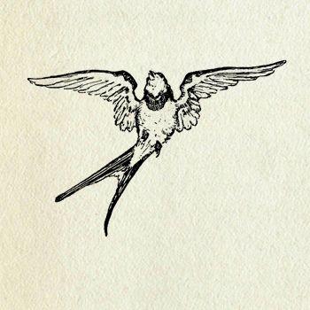Vintage Bird Clip Art Birds Tattoo Dog Tattoos Vintage Birds