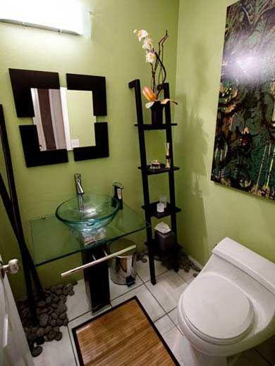 60 fotos e ideas sobre cmo decorar un cuarto de bao o aseo moderno parte i - Como Decorar Un Cuarto De Bao