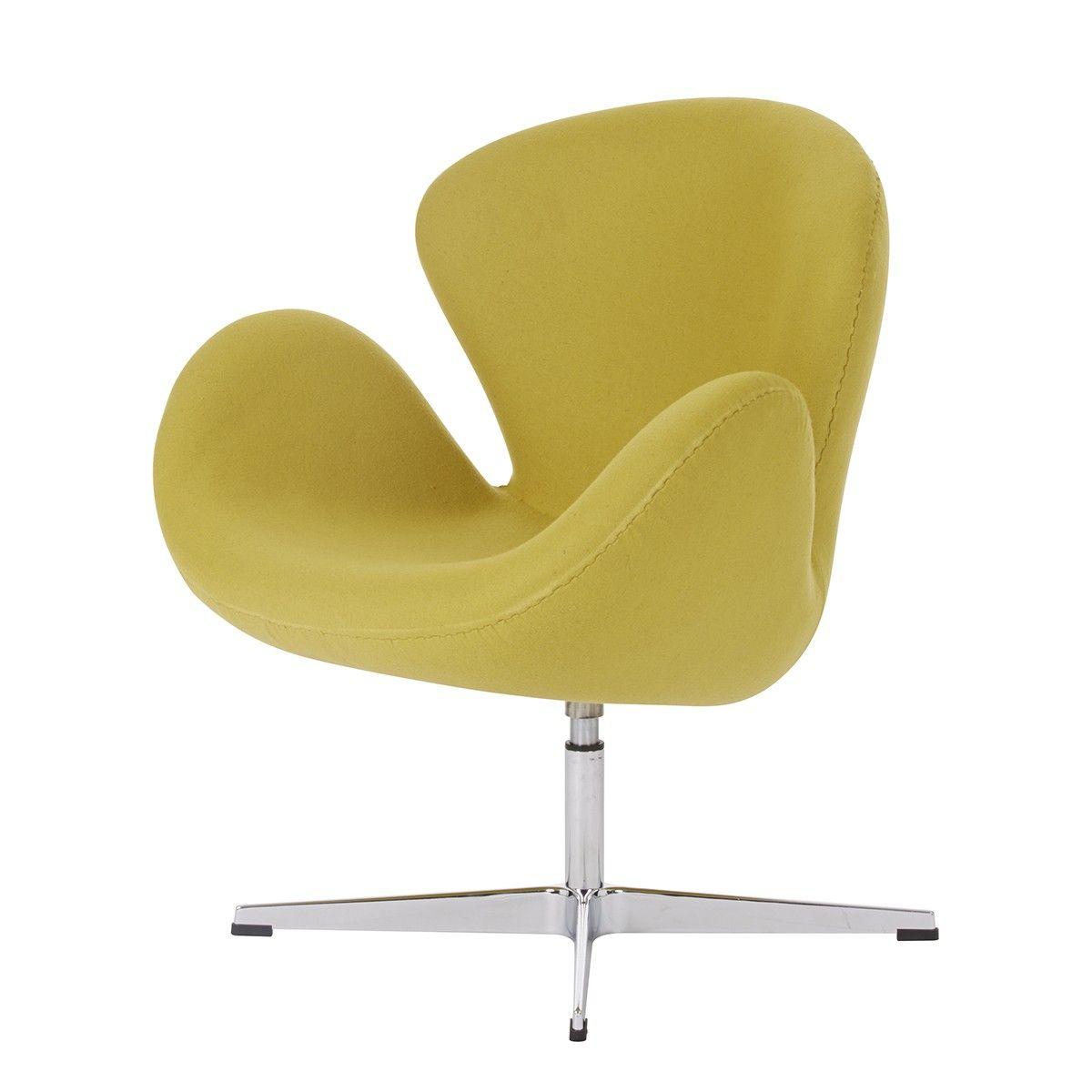 Replica Arne Jacobsen Swan Chair - Wool Blend - Chairs Nick Scali Online