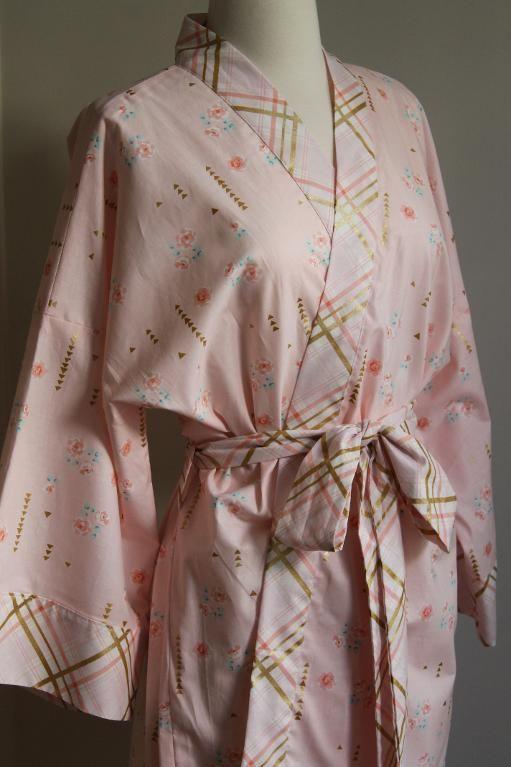 e3cf3d1d73 (9) Name   Sewing   Kimono Robe - Misses and Plus Sizes