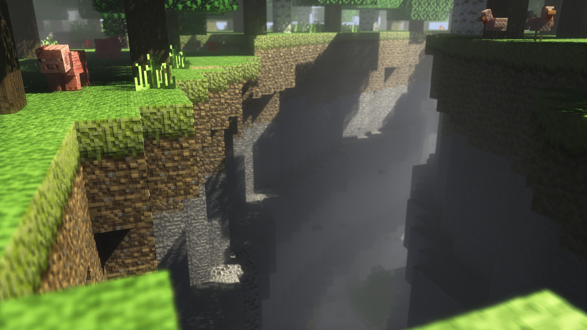 Minecraft Shaders Backgrounds WallpaperPulse