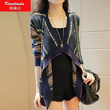 Korelinda ® Women's Clothing In a long cardigan jacket 180 – USD $ 22.50