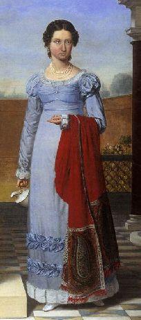 collettte versavel 1822 1820s in western fashion