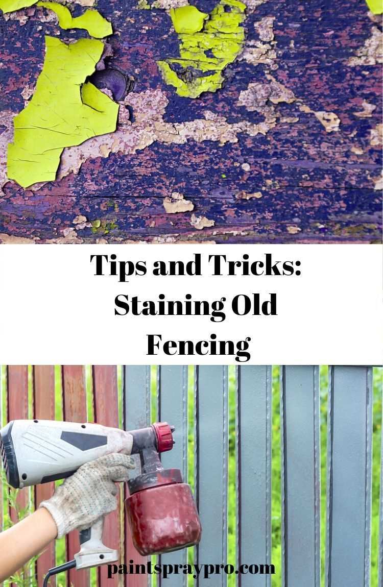 How To Stain A Fence Yourself In 2020 Best Paint Sprayer Paint Sprayer Solid Stain Colors