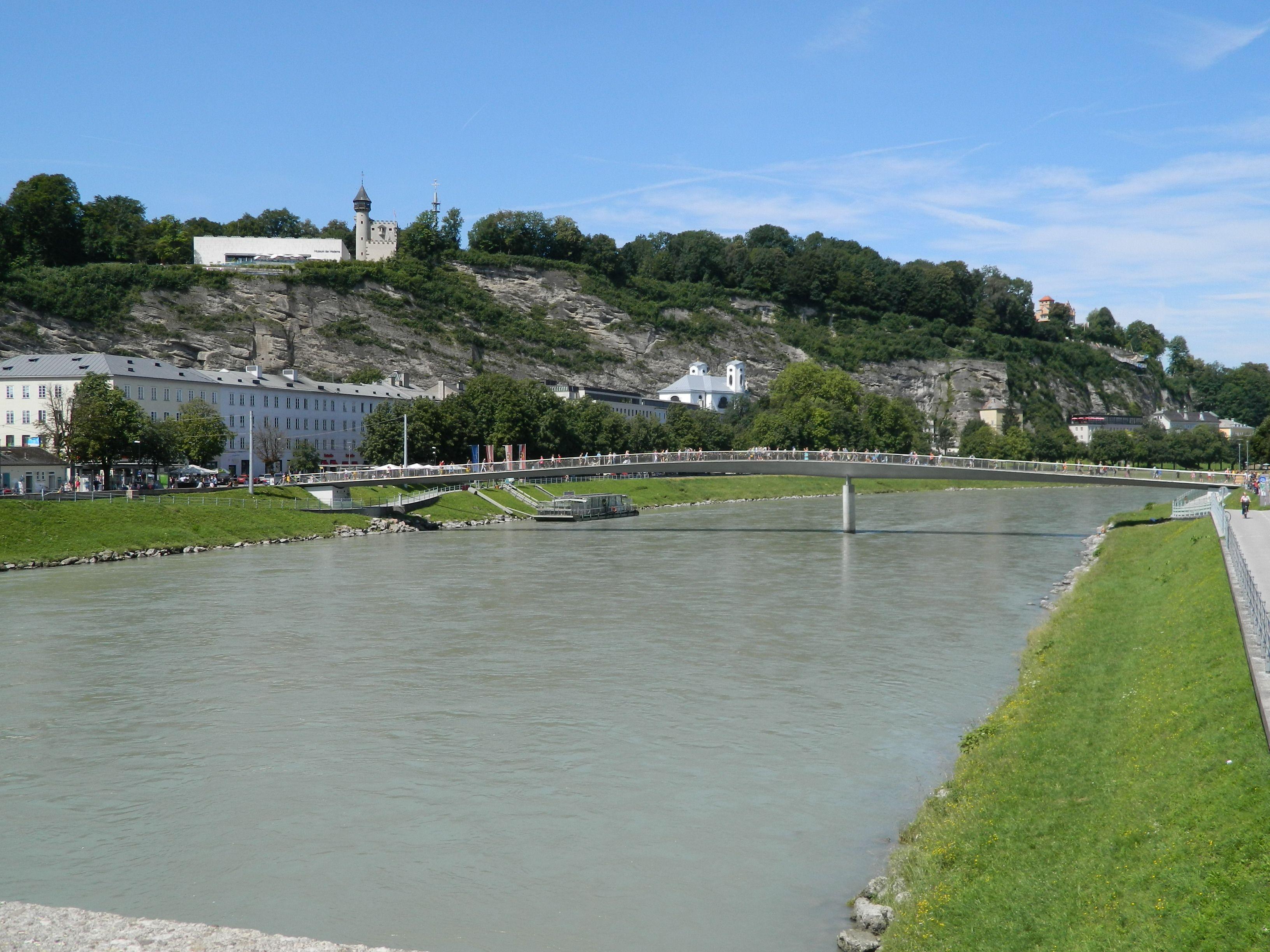 Danube River In Salzburg Hongarije