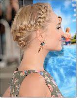 neue mode frisuren wie flechtet man kurze haare festliche