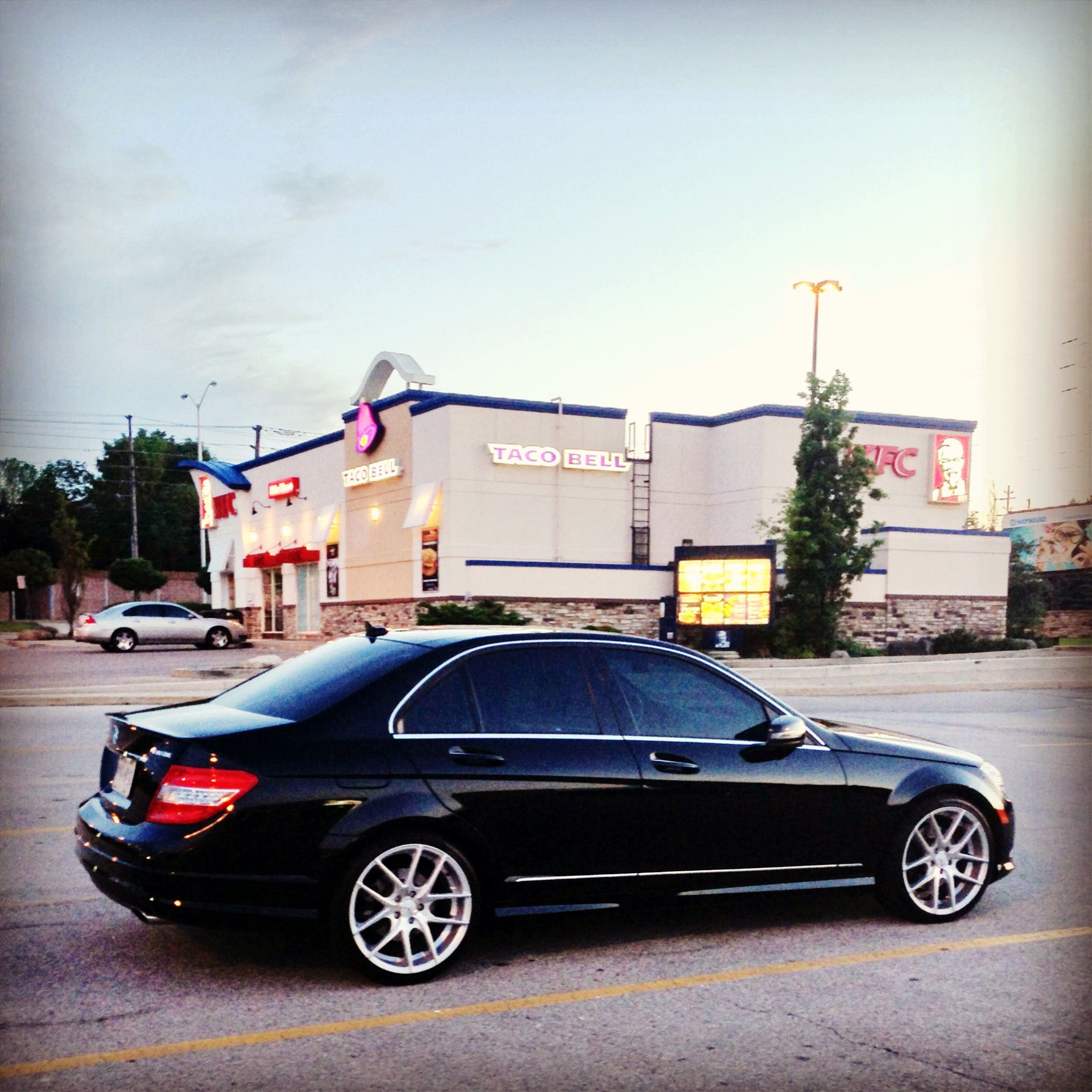 Mercedes C350 With Niche Rims Mercedes C350 Benz Mercedes