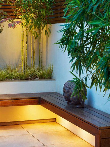 Contemporary Garden Led Lighting Effect