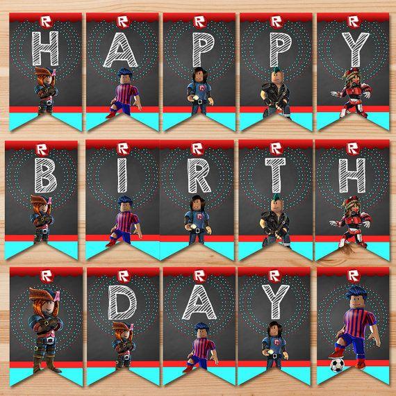 Birthday Boy Blam 3 By Nailesi: Roblox Happy Birthday Banner
