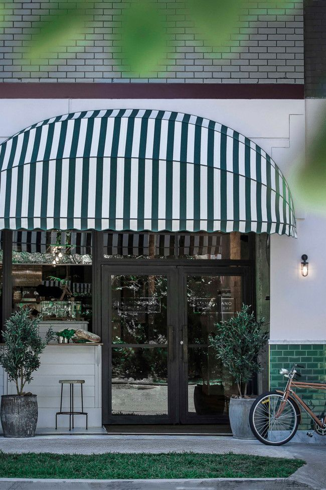 Coco Republic Launches Espresso Bar L Americano In Sydney With Images Cafe Decor Cafe Interior Design Canopy Design