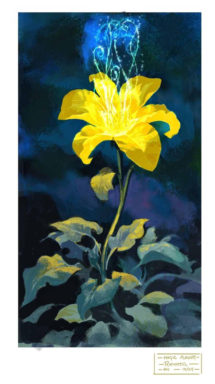Gallery For gt Tangled Flower Drawing