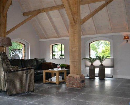 renovatie van woonboerderij interieur