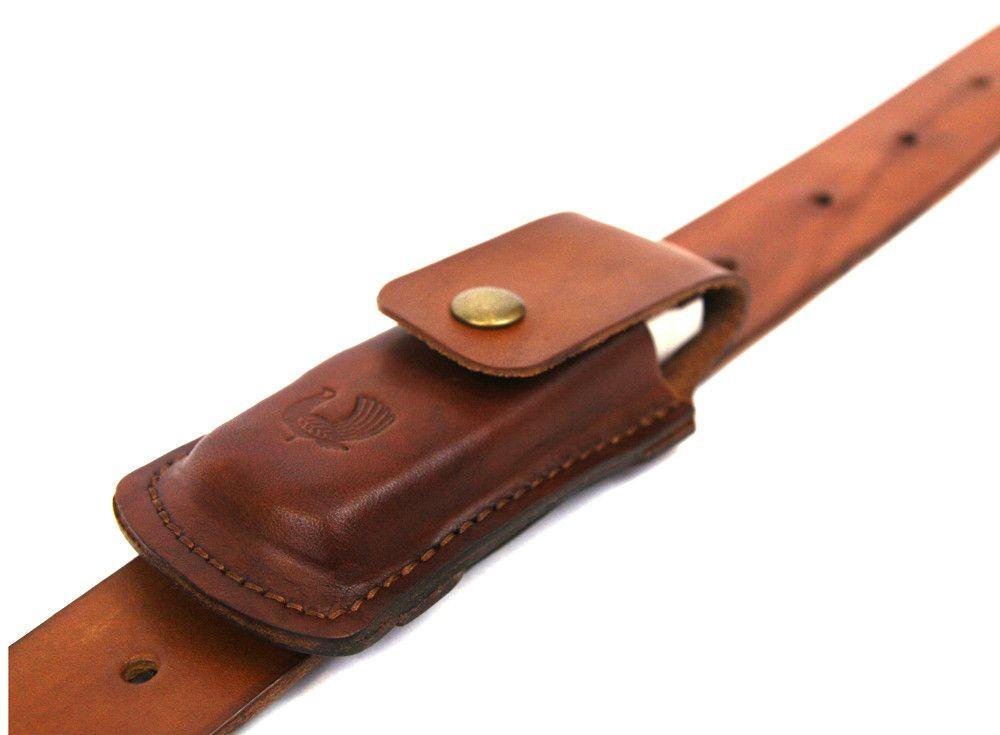 Multi Tool Sheath Saddle Tan Red Cloud Knife Sheath