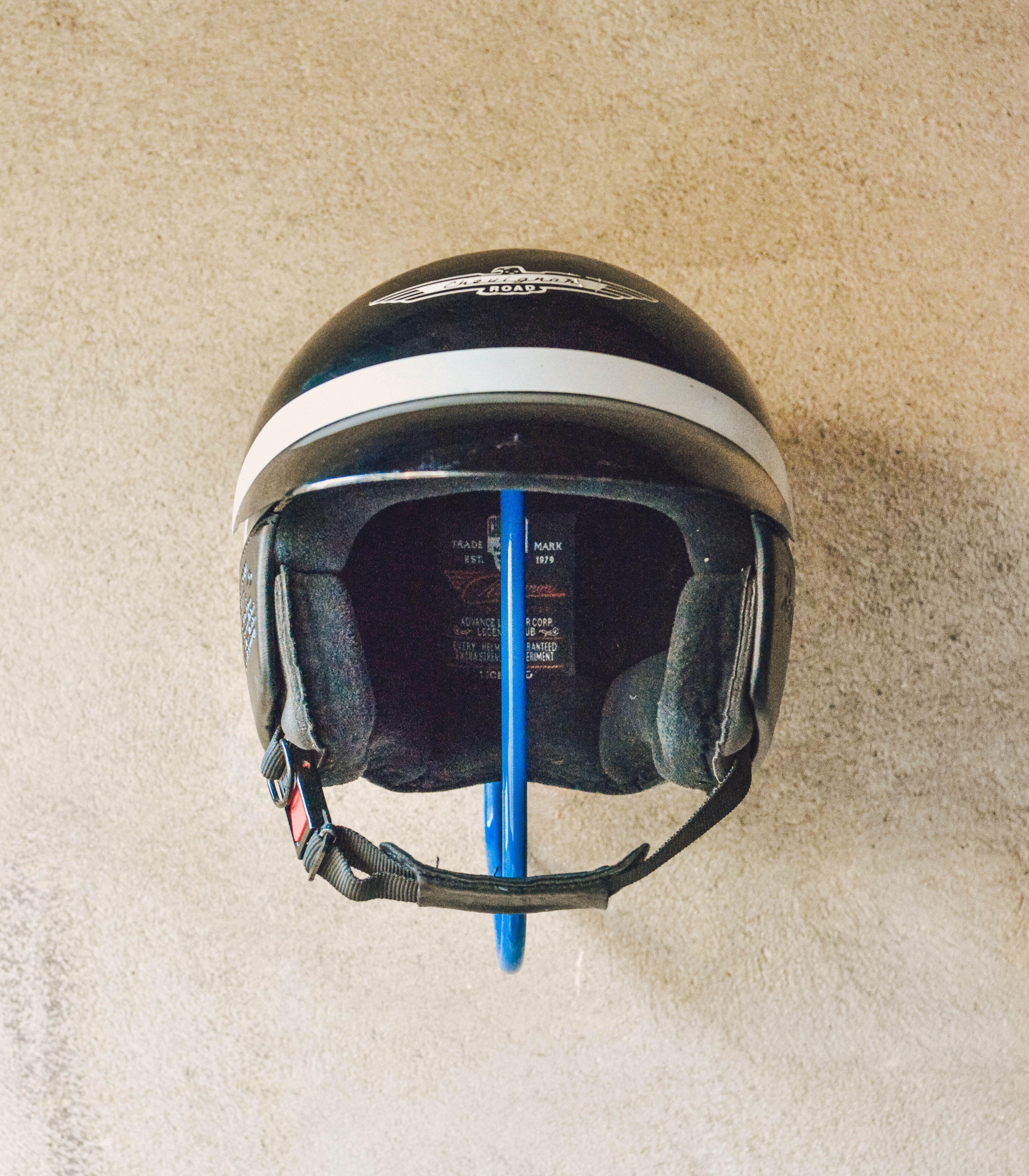 Porte Casque Helmet Rack France Waynscot Motorcycle Helmet Accessoires Decor Interieur Handmade Biker I Porte Casque Casque Helmet Casque