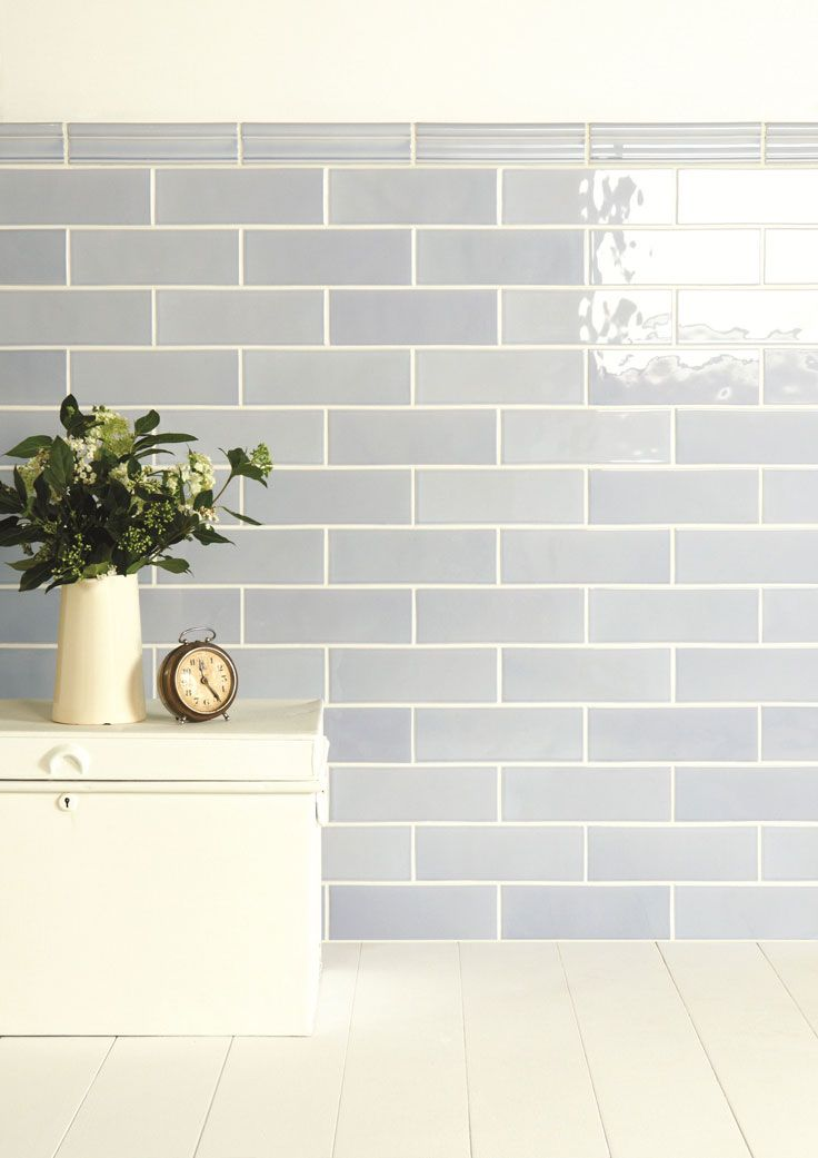 Artisan Metro Tile Blue Kitchen Tiles Brick Tiles Bathroom Kitchen Wall Tiles