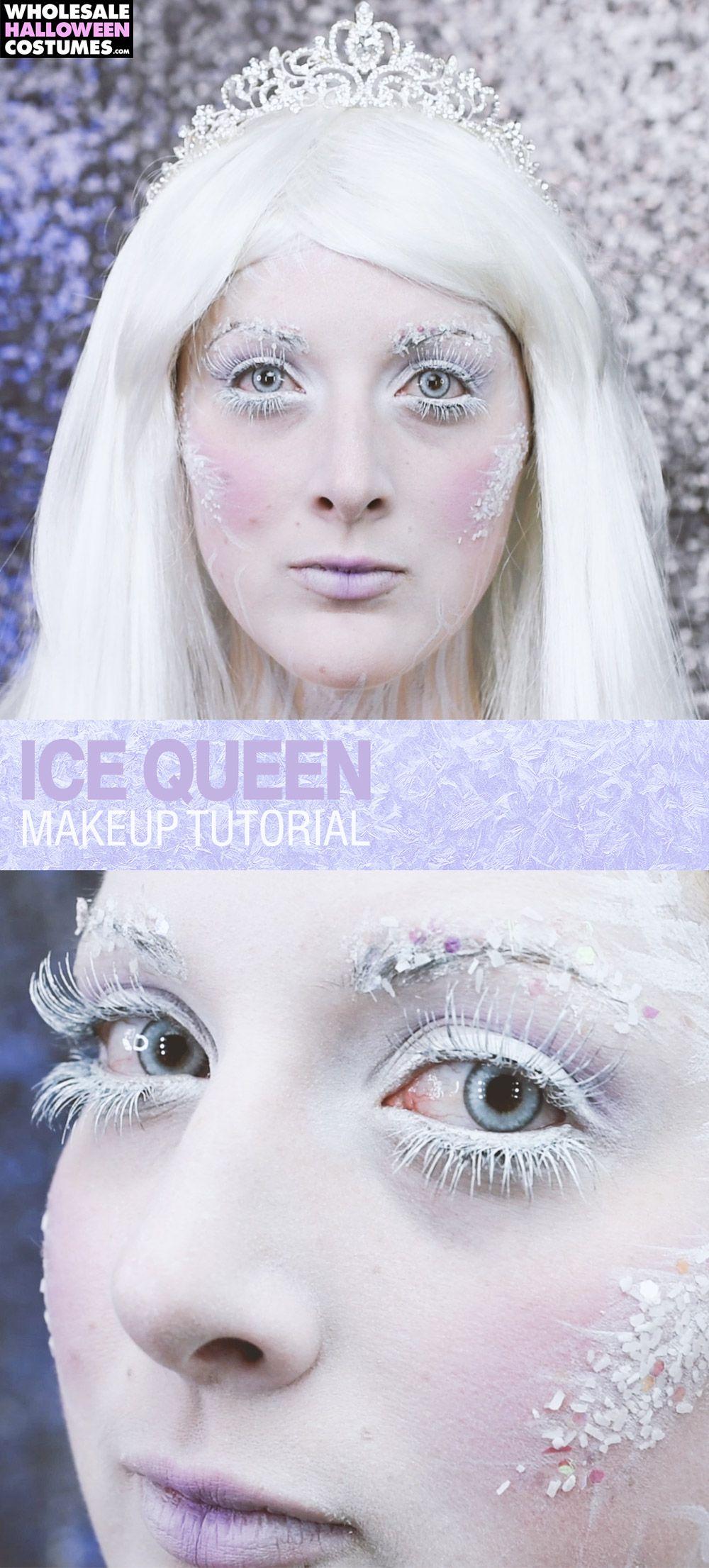 Ice Queen Makeup Tutorial Ice Queen Makeup Queen Makeup Ice Queen