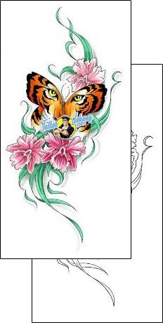 Tigerfly Tattoo Tiger Tattoo Design Butterfly Tattoo Designs Tiger Tattoo
