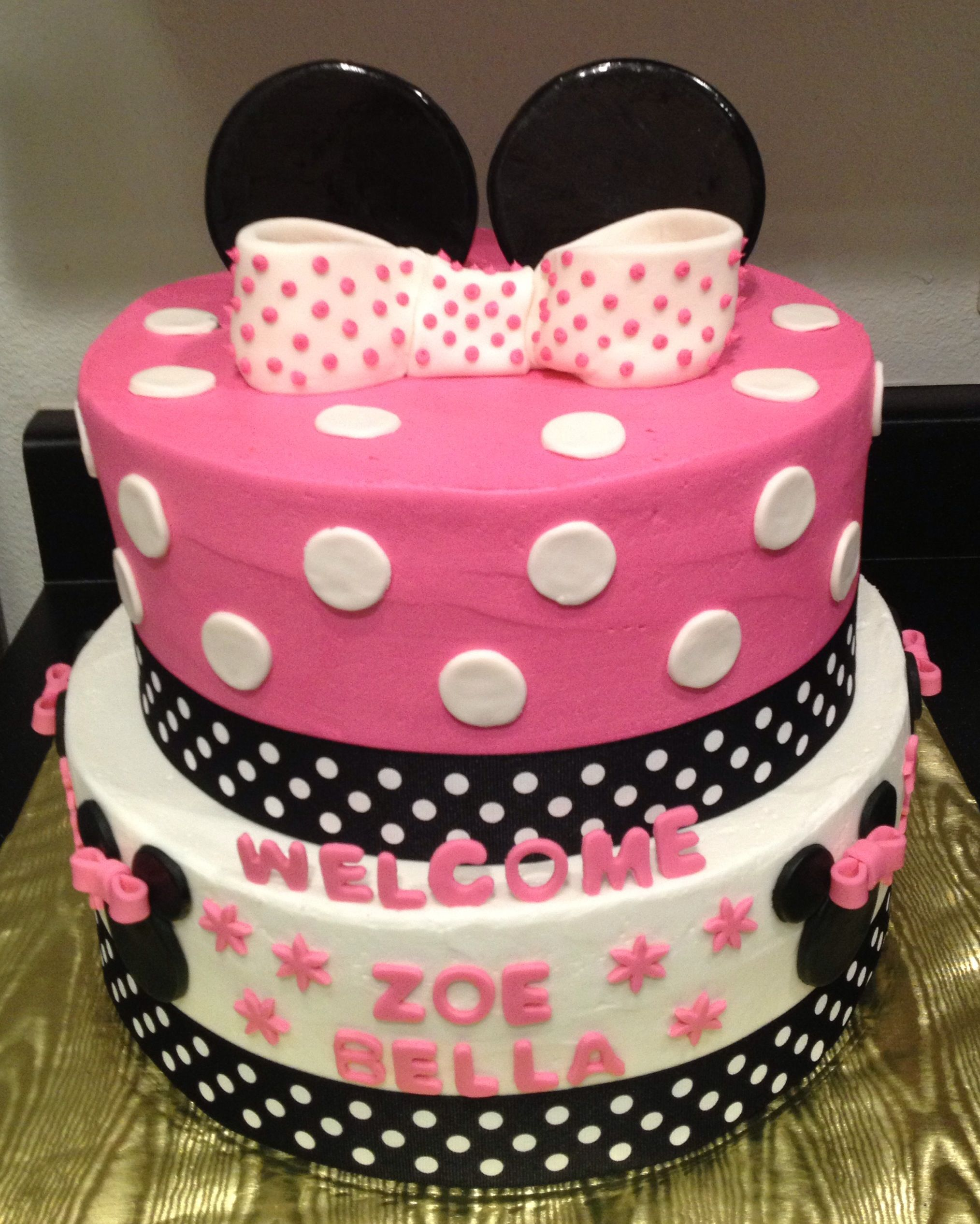 Permalink to Lovely Minnie Mouse Baby Shower Ideas