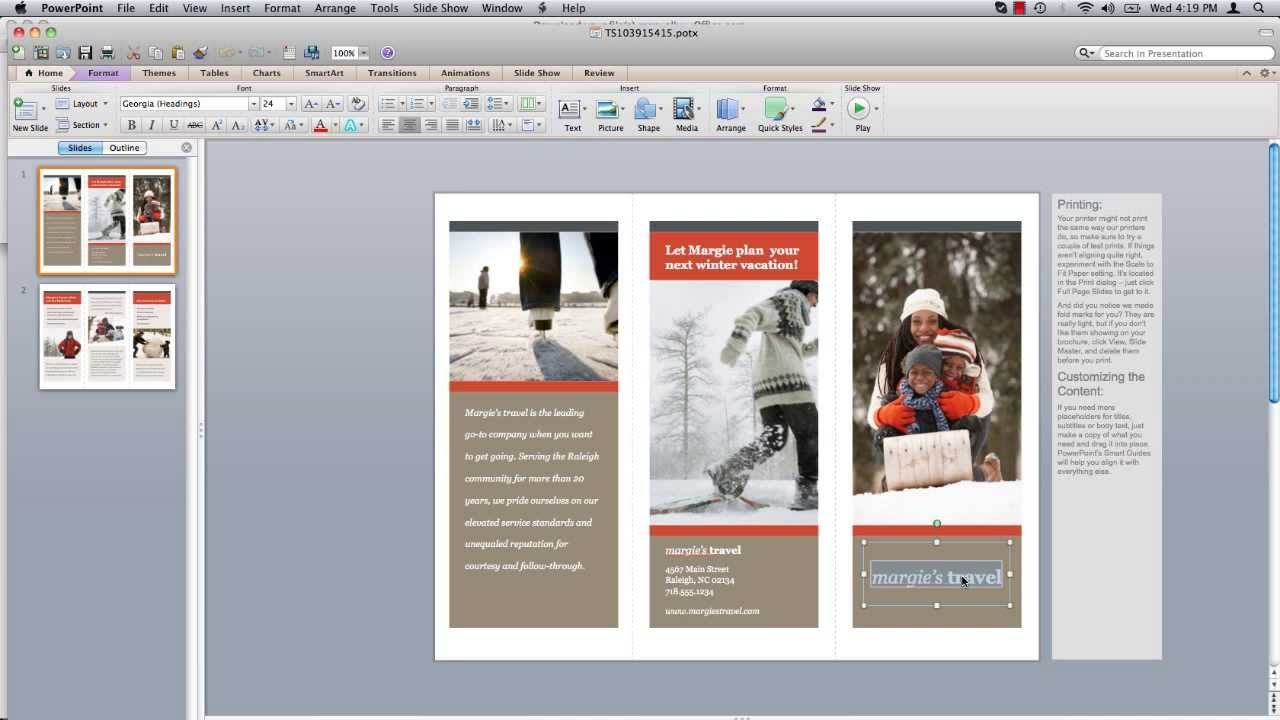 brochure templates google docs all templates