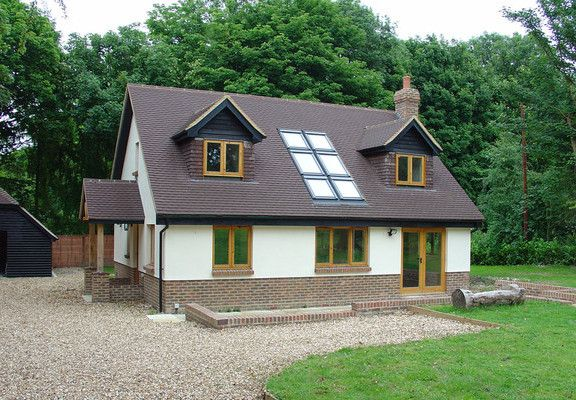 3 Bedroom Self Build Timber Frame House Design Self Build Houses Bungalow Design Modern Bungalow House