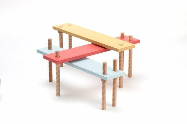 Screw Like Furniture By Carlo Contin Furniture Design Furniture Design