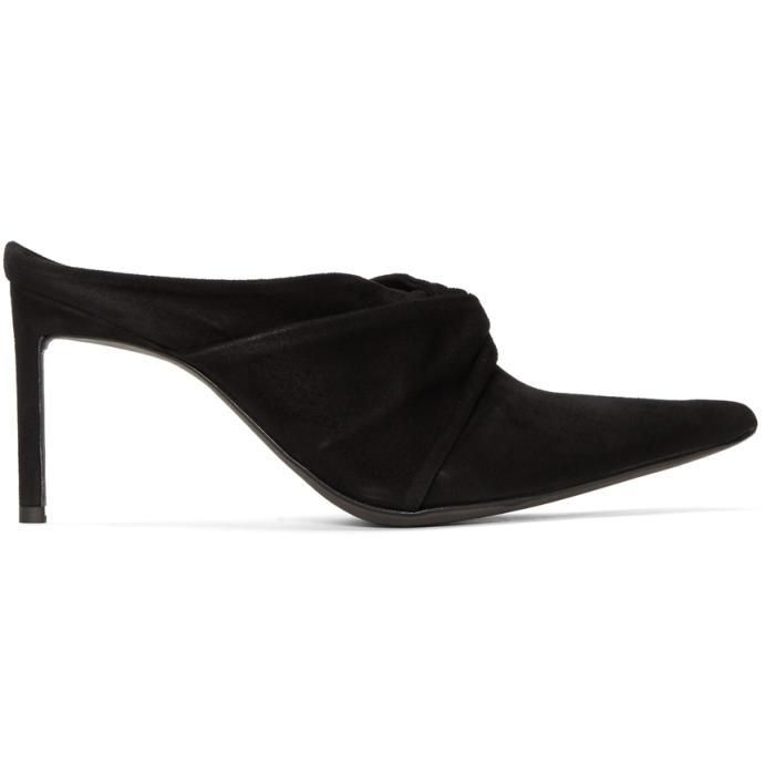 Haider Ackermann Suede Knotted Mules DSX1AbM