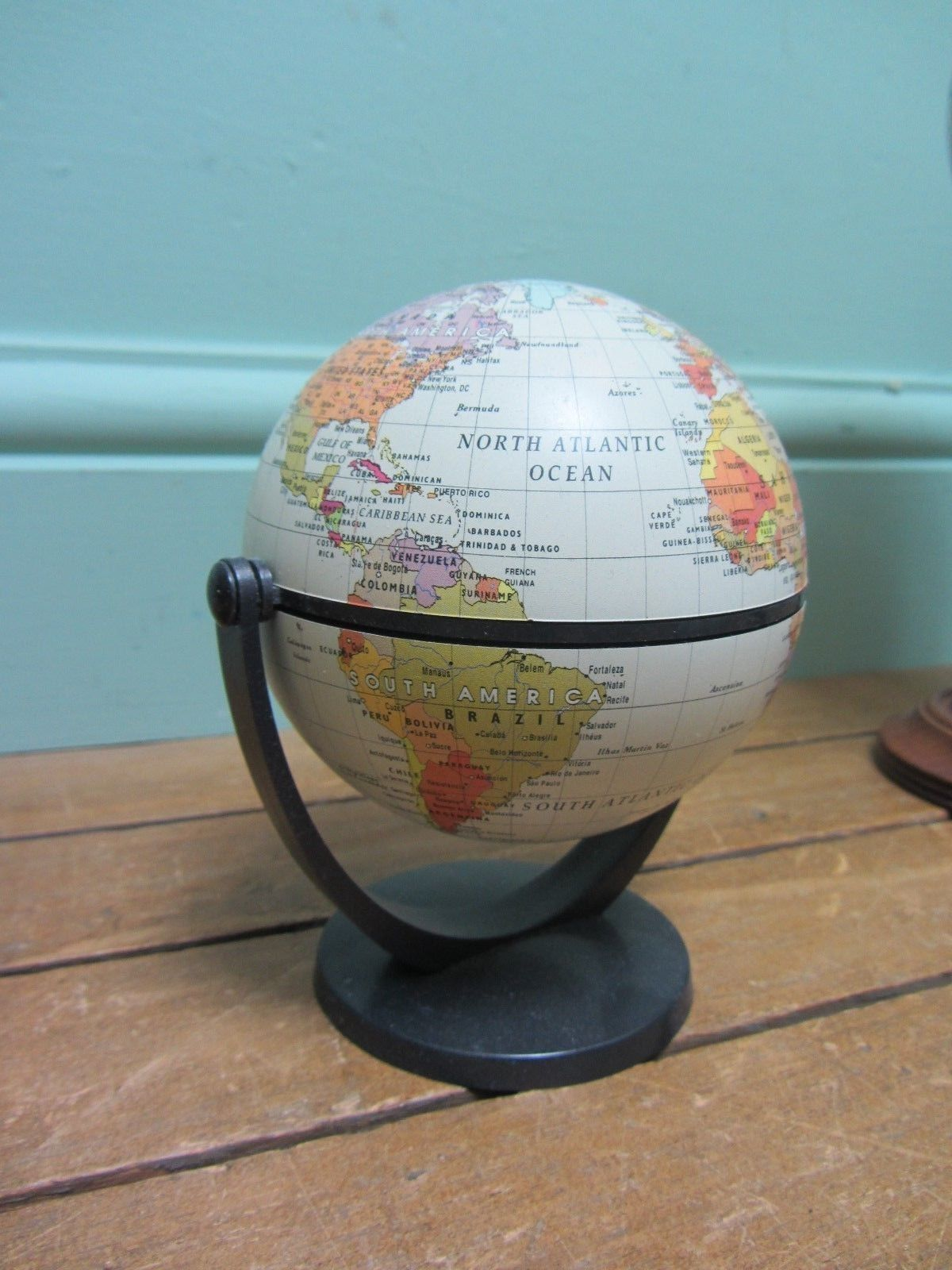Small world globes rotating map on stand job lot c4 ebay small world globes rotating map on stand job lot c4 ebay gumiabroncs Image collections
