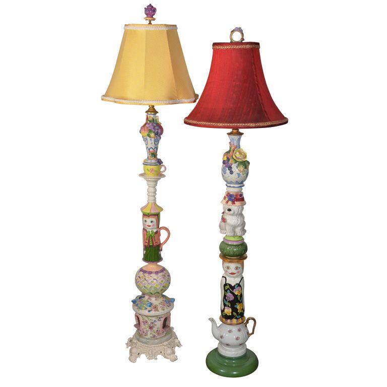 Whimsical Custom Made Floor Lamps 1stdibs Com Vintage Floor Lamp Lamp Bohemian Lamp