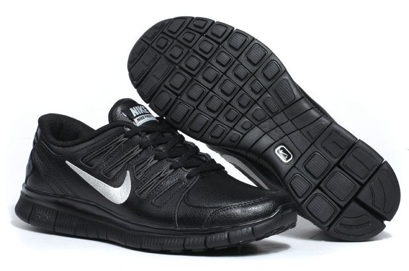 nike free run 5.0 black mens